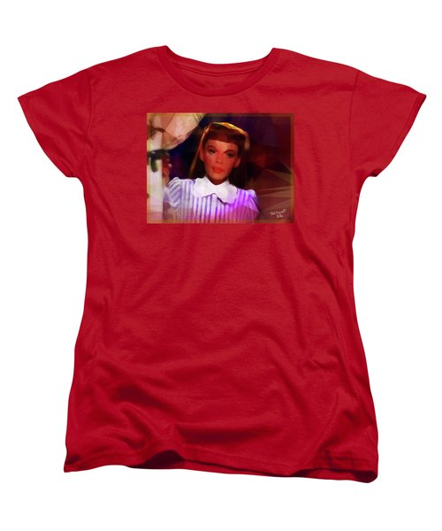 Judy Garland Women's T-Shirt (Standard Cut) by Ted Azriel