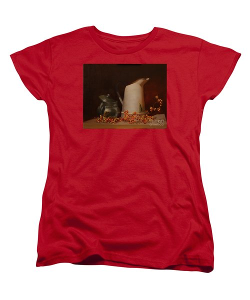 Jugs Women's T-Shirt (Standard Cut) by Genevieve Brown