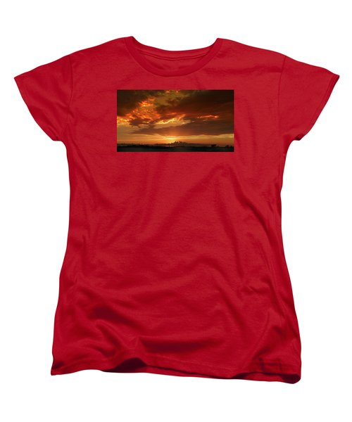 June Sunset Women's T-Shirt (Standard Cut) by Rod Seel