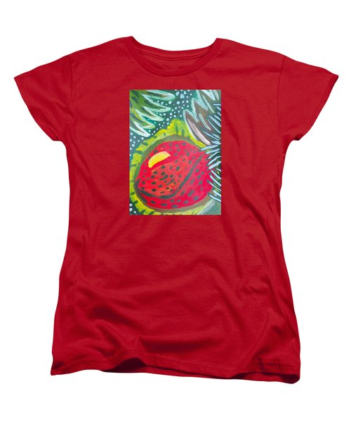 Women's T-Shirt (Standard Cut) featuring the painting Jungle Fruit by Artists With Autism Inc