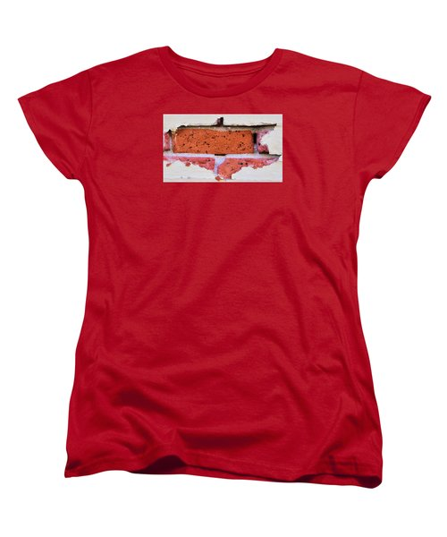 Just Another Brick In The Wall Women's T-Shirt (Standard Cut) by Josephine Buschman