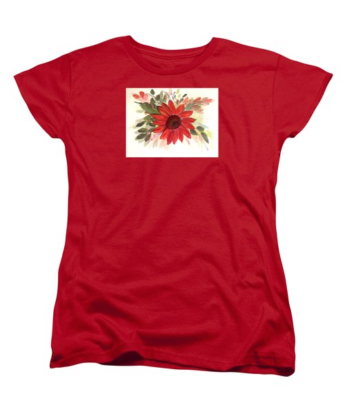 Women's T-Shirt (Standard Cut) featuring the painting Just For You by Dorothy Maier