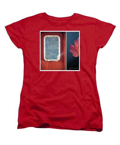 Juxtae #14 Women's T-Shirt (Standard Cut) by Joan Ladendorf