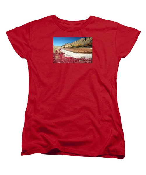 Kamloops Autumn Women's T-Shirt (Standard Cut)