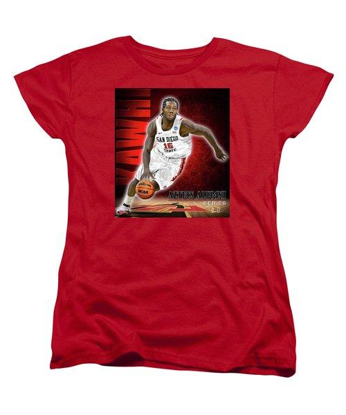 Kawhi Women's T-Shirt (Standard Cut) by Don Olea