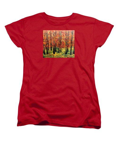 Keeping Score Women's T-Shirt (Standard Cut) by Lisa Aerts