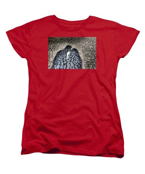 Kiss Me On The Cobblestone Women's T-Shirt (Standard Cut)