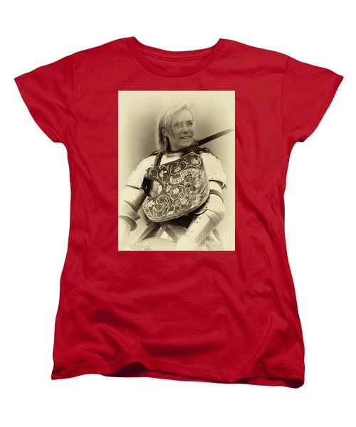 Women's T-Shirt (Standard Cut) featuring the photograph Knights Of Old 17 by Bob Christopher