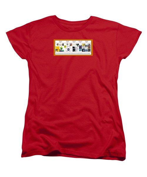 Know Thyself Women's T-Shirt (Standard Cut) by Peter Hedding