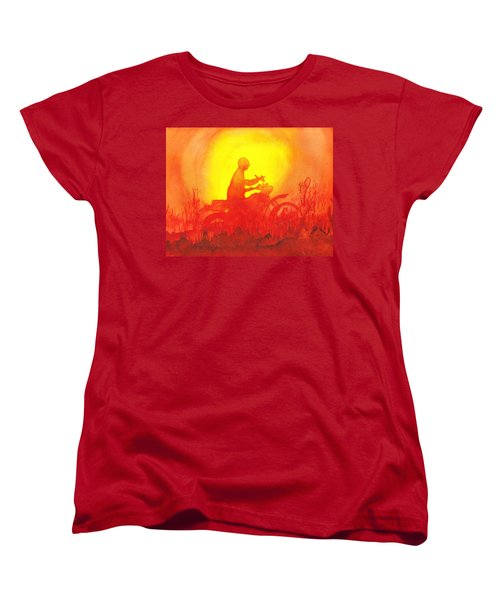 Koala Lumpur Sunset Women's T-Shirt (Standard Cut) by Donna Walsh