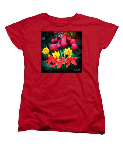 Ladies In Waiting Women's T-Shirt (Standard Cut) by Vonda Lawson-Rosa