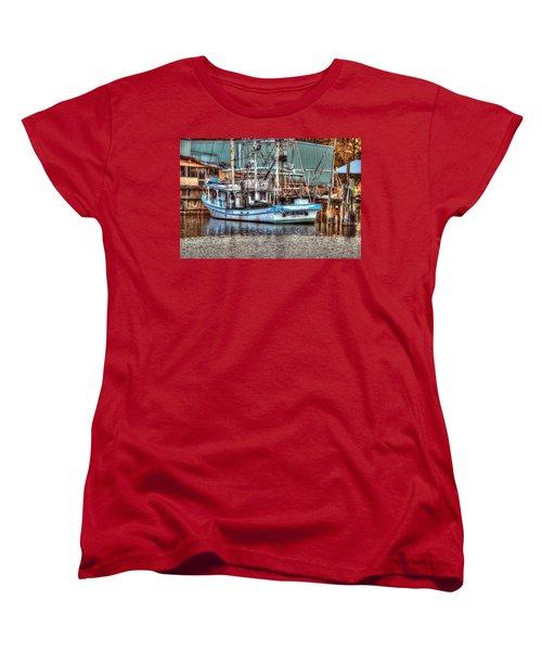 Lady De Ette Women's T-Shirt (Standard Cut) by Michael Thomas