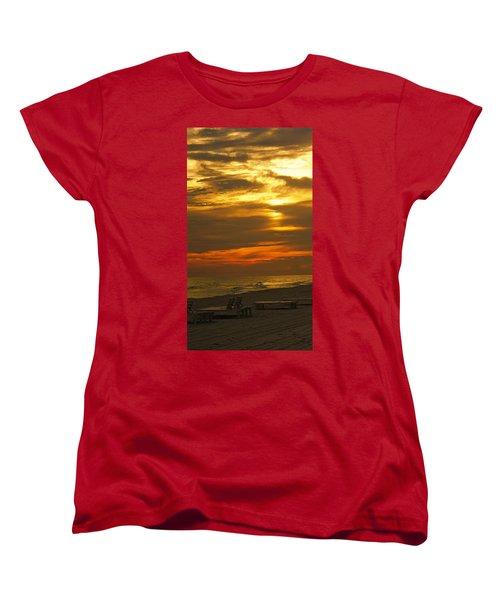 Laguna Beach Women's T-Shirt (Standard Cut) by Paul Wilford