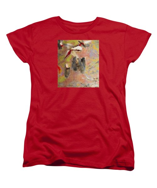 Women's T-Shirt (Standard Cut) featuring the photograph Lake Life by William Wyckoff