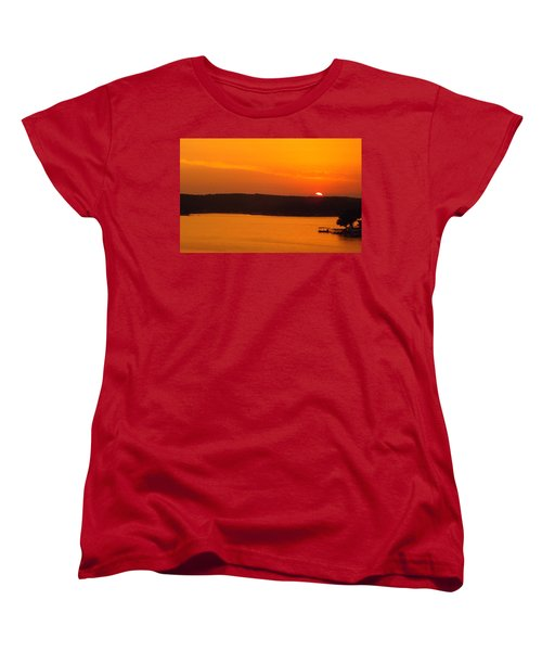 Lake Of The Ozarks 1 Women's T-Shirt (Standard Cut) by Don Koester