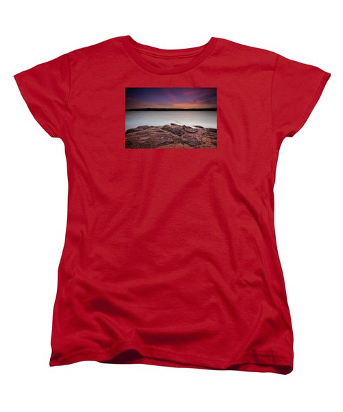 Lake Sunset Iv Women's T-Shirt (Standard Cut)