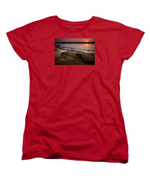 Lake Sunset Vi Women's T-Shirt (Standard Cut)