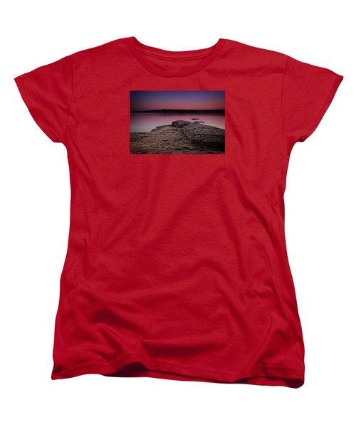 Lake Sunset Viii Women's T-Shirt (Standard Cut)