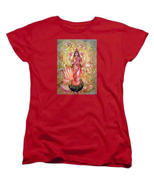 Lakshmi Darshanam Women's T-Shirt (Standard Cut)