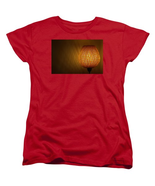 Lamp Women's T-Shirt (Standard Cut) by RKAB Works