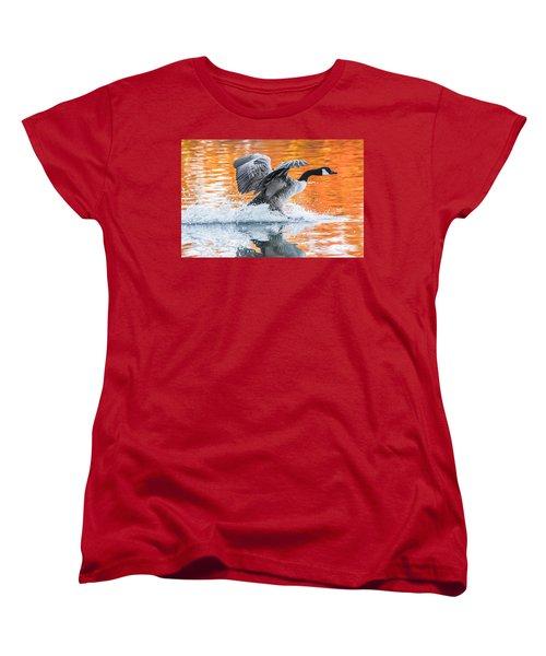 Landing Women's T-Shirt (Standard Cut) by Parker Cunningham