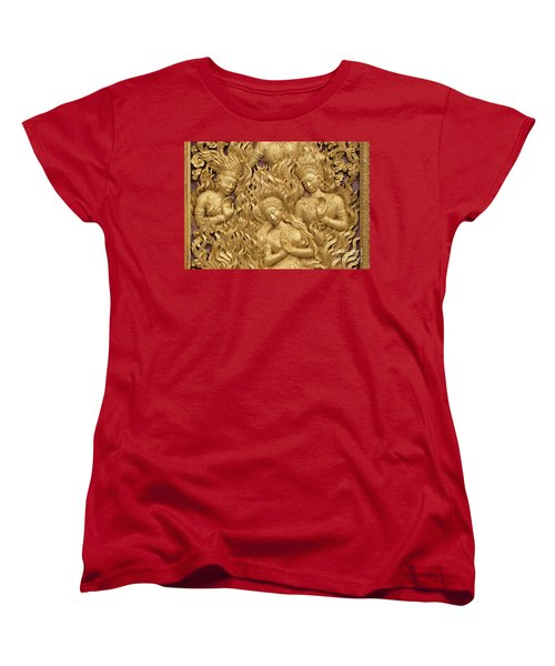 Laos_d60 Women's T-Shirt (Standard Cut) by Craig Lovell