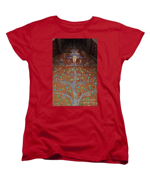 Laos_d92 Women's T-Shirt (Standard Cut) by Craig Lovell