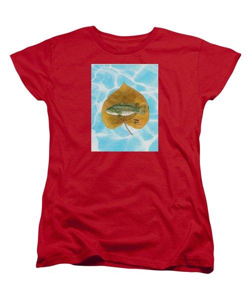Large Mouth Bass #2 Women's T-Shirt (Standard Cut) by Ralph Root