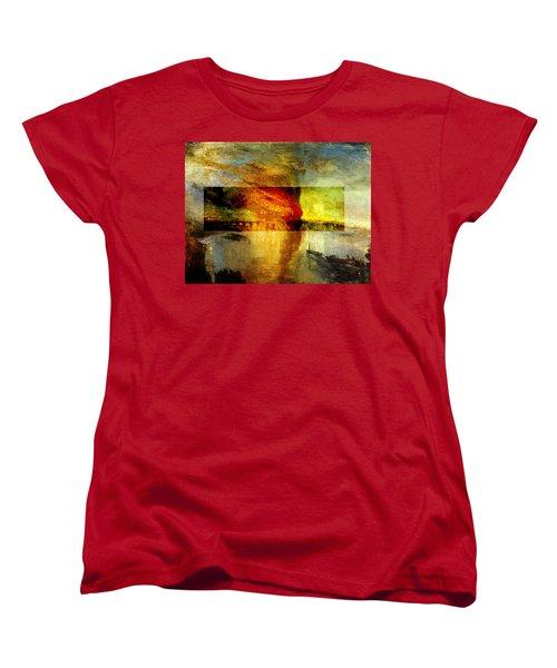 Layered 12 Turner Women's T-Shirt (Standard Cut) by David Bridburg