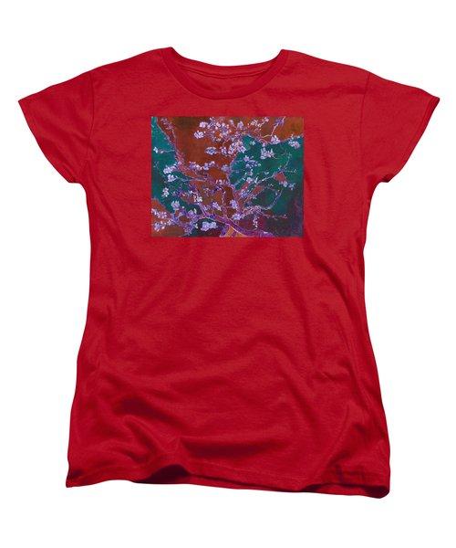 Layered 2 Van Gogh Women's T-Shirt (Standard Cut) by David Bridburg