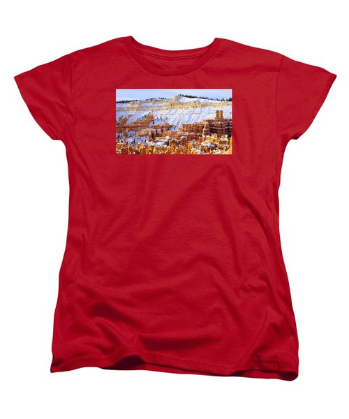 Women's T-Shirt (Standard Cut) featuring the photograph Layers by Chad Dutson