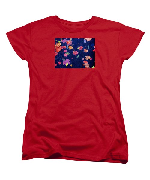 Leaves Women's T-Shirt (Standard Cut) by Christopher Woods