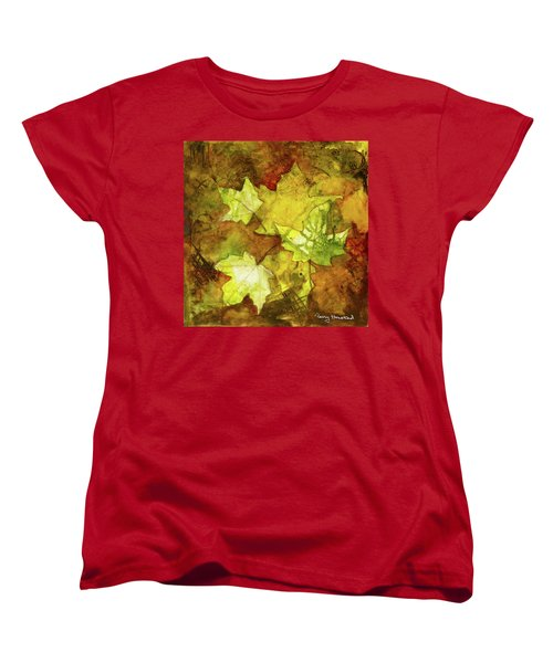 Leaves Women's T-Shirt (Standard Cut) by Terry Honstead