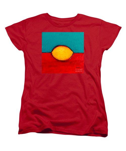 Lemon Women's T-Shirt (Standard Cut) by Fred Wilson