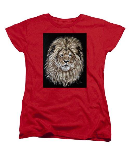 Leonardo Women's T-Shirt (Standard Cut) by Teresa Wing