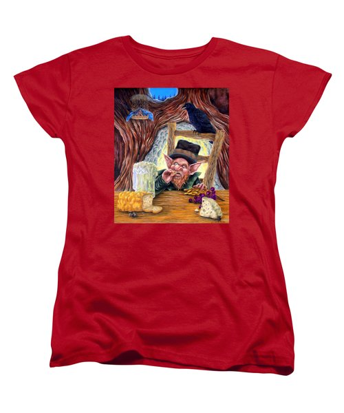 Leprechaun's Lair Women's T-Shirt (Standard Cut)