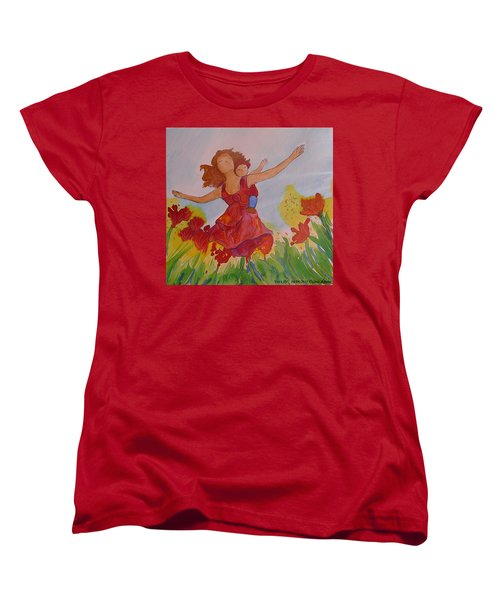 Let's Fly  Women's T-Shirt (Standard Cut) by Gioia Albano