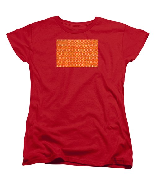 Let's Polka Dot Women's T-Shirt (Standard Cut) by Iryna Goodall