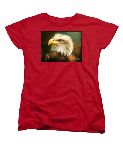 Liberty And Justice Women's T-Shirt (Standard Cut) by Tina LeCour
