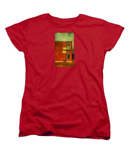 Women's T-Shirt (Standard Cut) featuring the photograph Lido Lion by Anne Kotan
