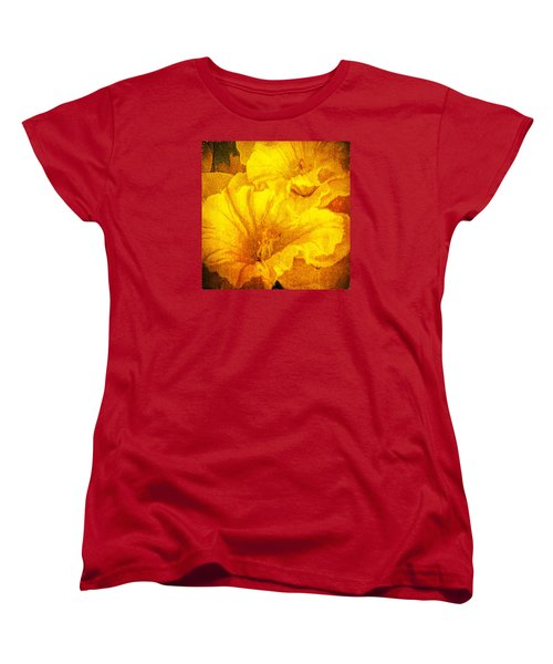 Life In Yellow Women's T-Shirt (Standard Cut) by Lewis Mann