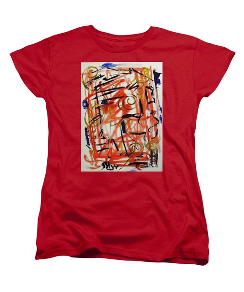Life Should Be Filled With Spontaneity Women's T-Shirt (Standard Cut) by Mary Carol Williams