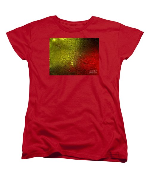 Women's T-Shirt (Standard Cut) featuring the photograph Light Under Ice by Trena Mara