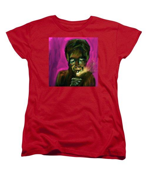 Lighting Up Women's T-Shirt (Standard Cut) by Jim Vance