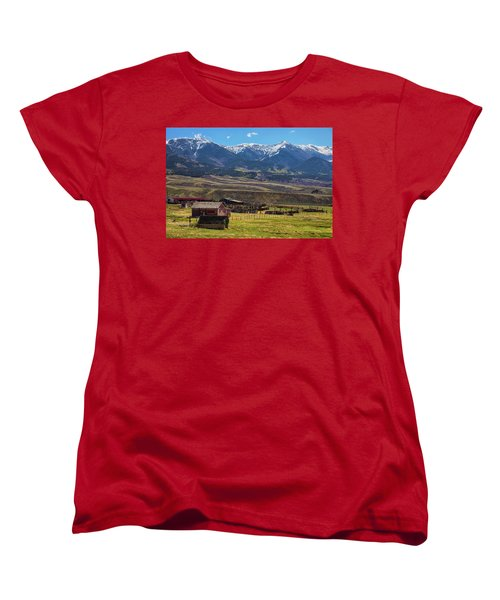 Like An Old Western Movie Women's T-Shirt (Standard Cut) by James BO Insogna