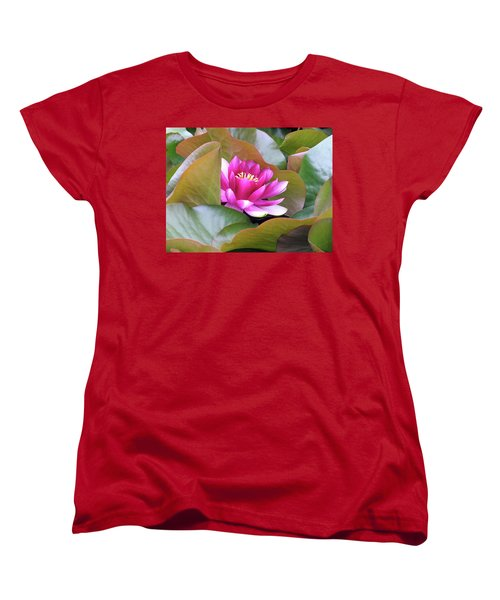 Women's T-Shirt (Standard Cut) featuring the photograph Lilly In Bloom by Wendy McKennon