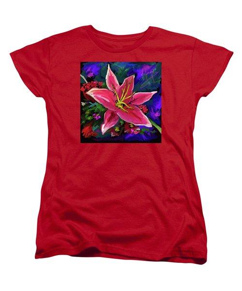 Lily Women's T-Shirt (Standard Cut) by DC Langer