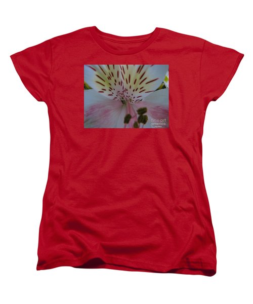 Women's T-Shirt (Standard Cut) featuring the photograph Lily by Greg Patzer
