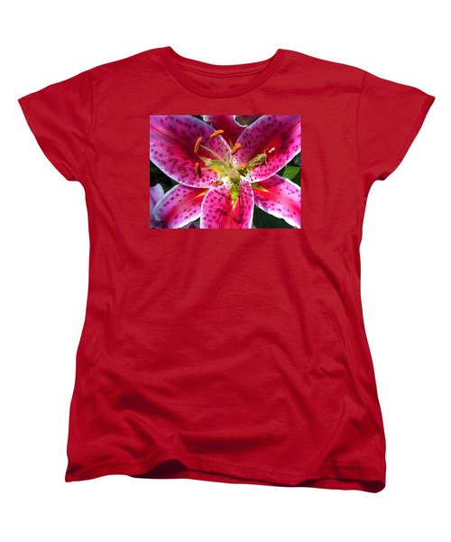 Women's T-Shirt (Standard Cut) featuring the photograph Lily by Mary-Lee Sanders