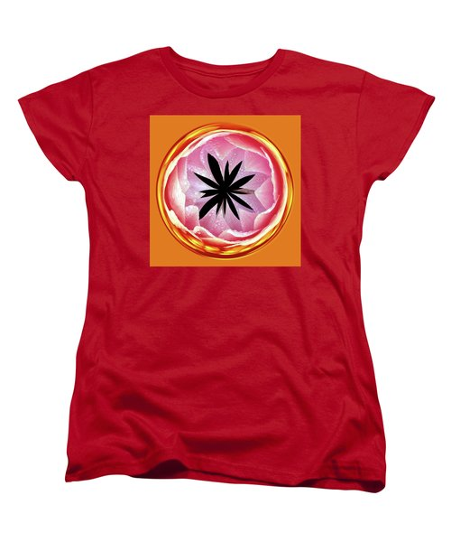 Women's T-Shirt (Standard Cut) featuring the photograph Lily Orb by Bill Barber